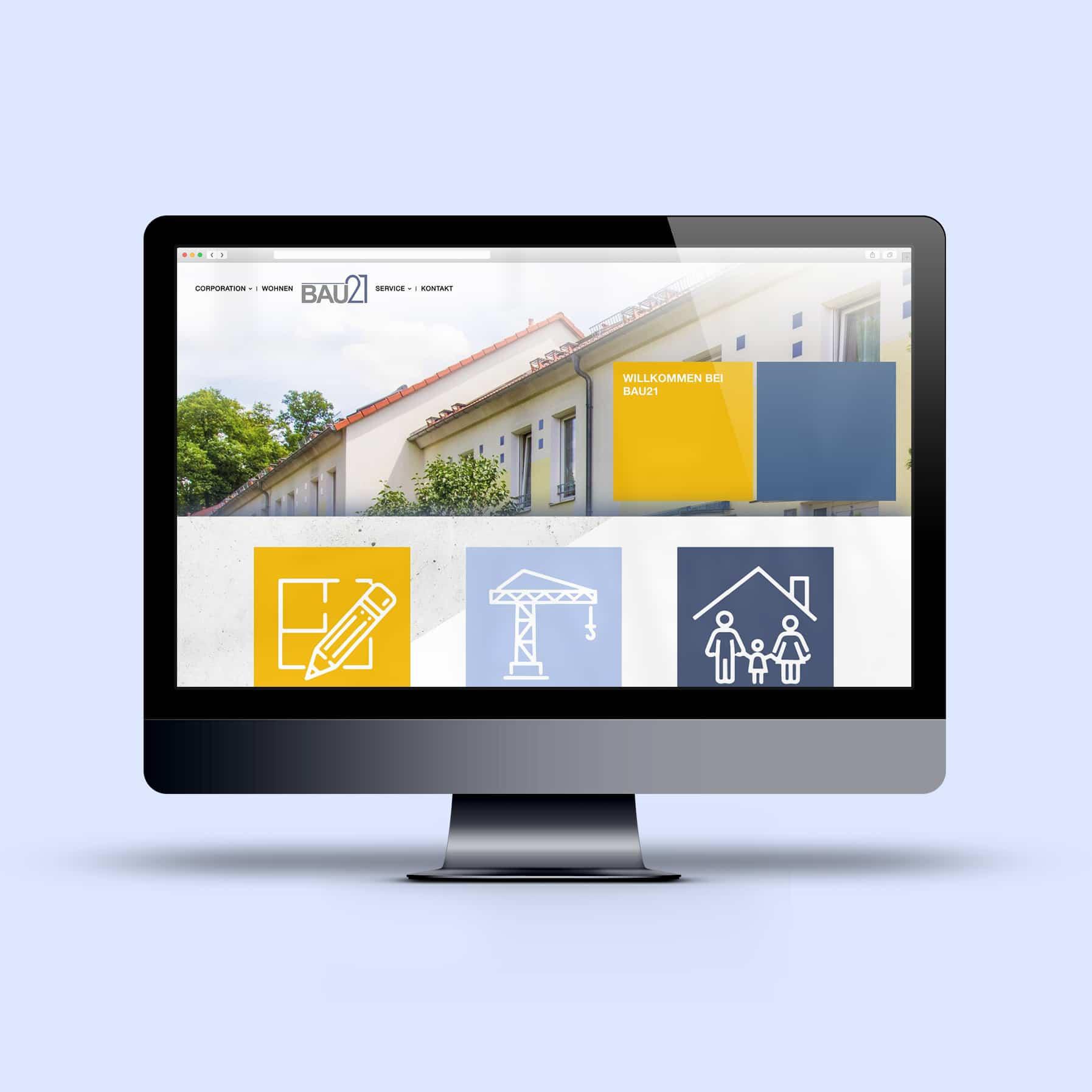 Redesign BAU21 Website