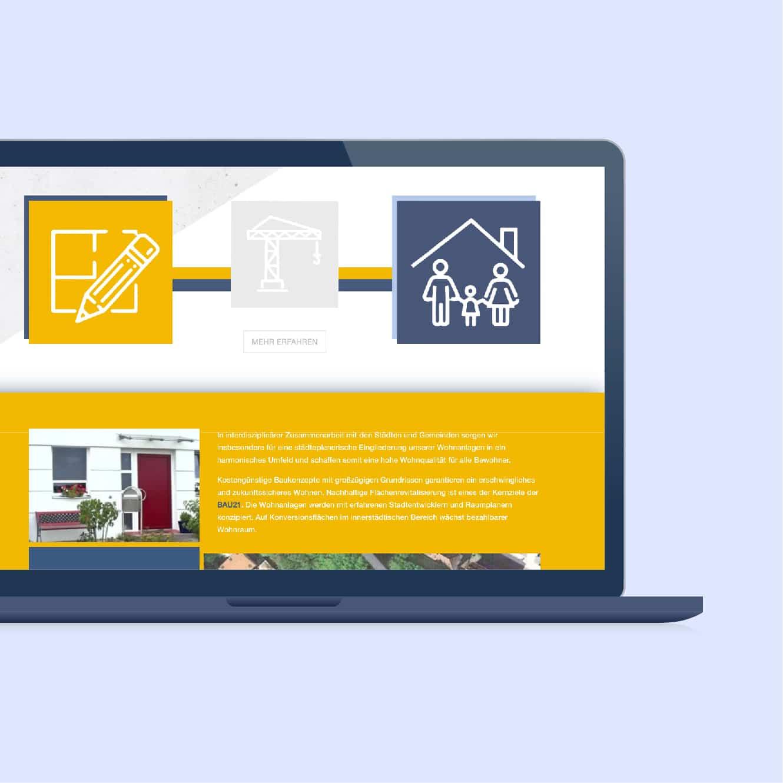 Website Redesign für BAU21